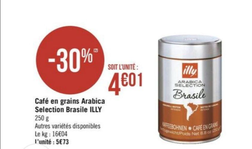 Boite de Café en grain illy - 250g