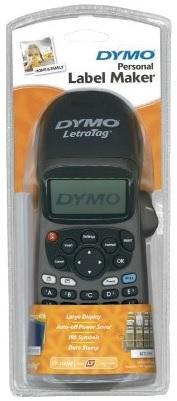 Étiqueteuse Dymo Letra Tag ABC + Ruban Papier Blanc (via 9,95 € sur la carte de fidélité)