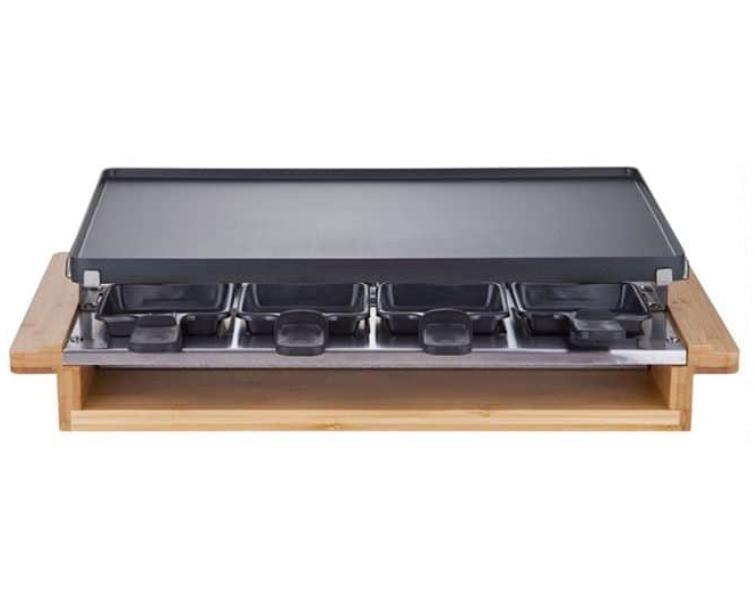 Appareil à Raclette multifonctions Thomson Bambou - 8 personnes