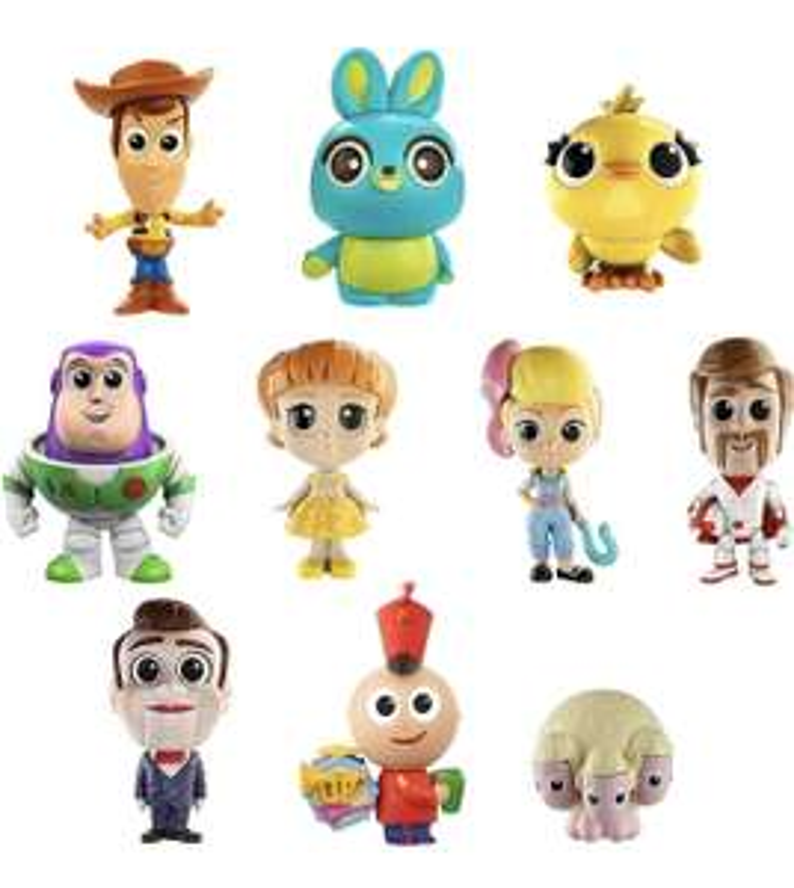 Pack de 10 Mini-Figurines Toy Story 4