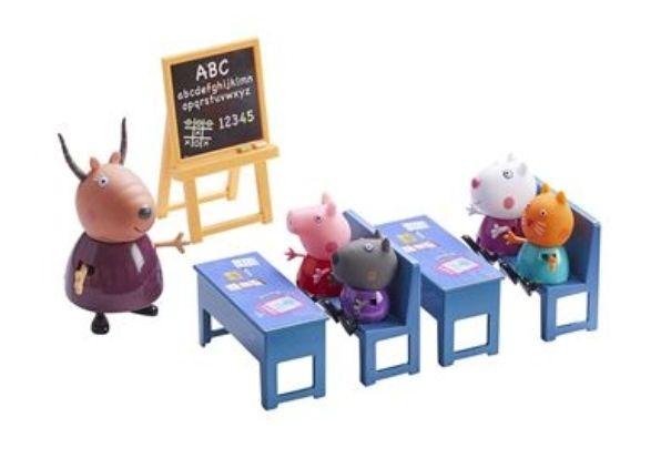 Jouet Peppa Pig - Salle de Classe & 5 Figurines