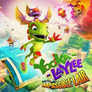 Yooka-Laylee and the Impossible Lair sur Switch (Dématérialisé)