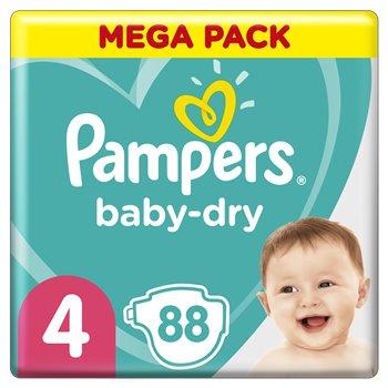 Sélection de paquets de couches en promotion - Ex: 2 paquets de 86 Couches Pampers Baby Dry T4 (172 couches) - Saint-Valery-en-Caux (76)