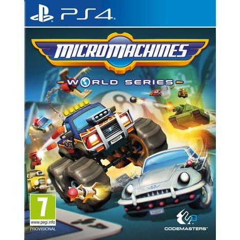 Micro Machines : World Series sur PS4