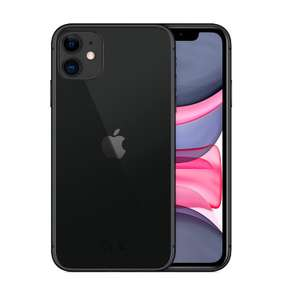 "Smartphone 6.1"" Apple iPhone 11 - 64 Go, Noir (Reconditionné - Grade A+)"