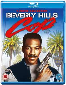 Coffret Bluray Trilogie Le flic de Beverly Hills