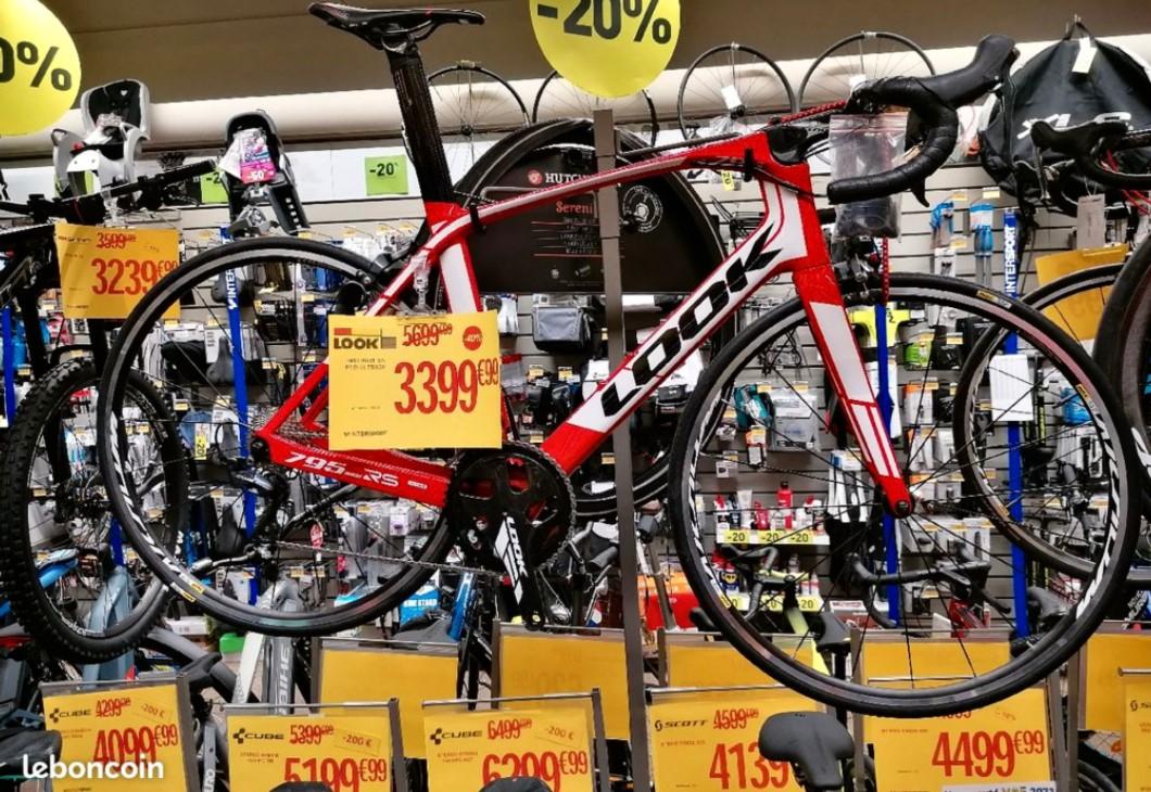 Sélection de vélos en promotion - Ex : Vélo Look 795 light RS - Salon de Provence (13)