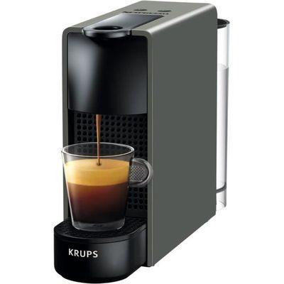 Cafetière Krups Nespresso Essenza Mini XN110B - 0,6 L, 19 bars, Gris