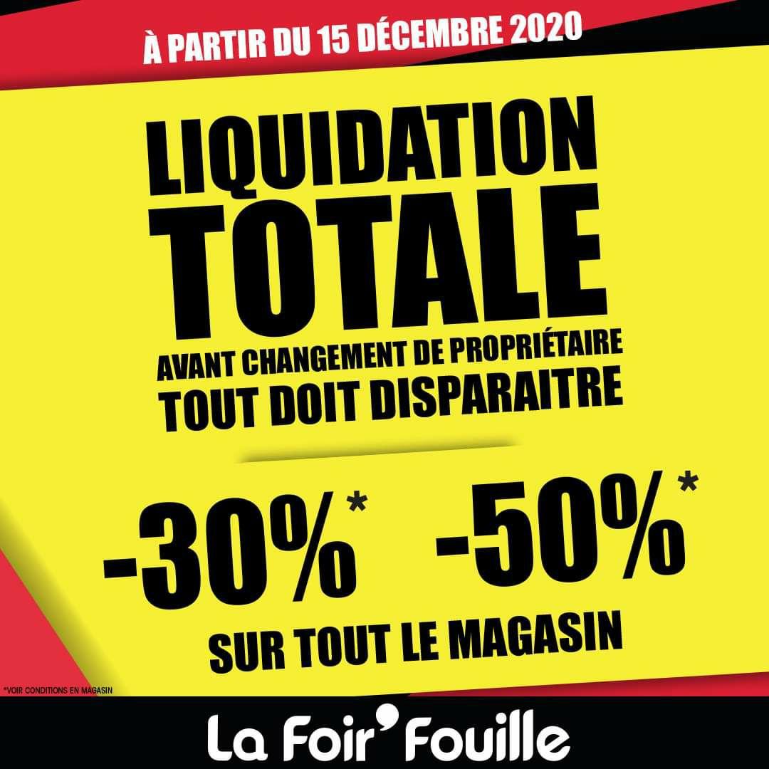 50% de réduction sur tout le magasin - Bourg-Lès-Valence (26), Romans-sur-Isère (26), Herblay (95), Lure (70)