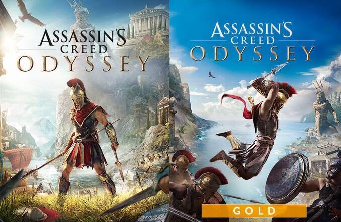 Assassin's Creed Odyssey Standard Edition à 7,80€ & Odyssey Gold Edition à 10,94€ sur Xbox One & Series X|S (Dématérialisés - Store BR)