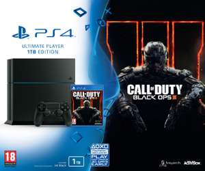 [Adhérents] Console Sony PS4 1 To + Call of Duty Black Ops III (+ 20€ en chèque cadeau)