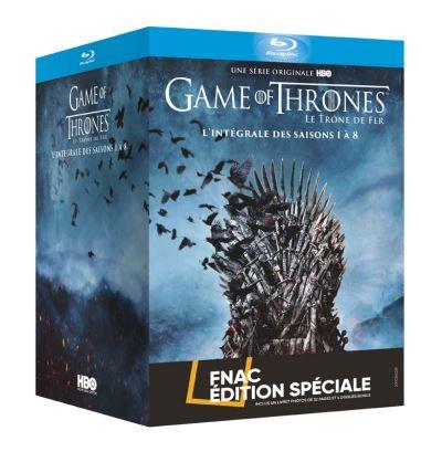 Sélection de Coffrets DVD & Blu-ray en promotion - Ex: Coffret Blu-ray Game of Thrones (Le Trône De Fer) - L'intégrale des Saisons 1 à 8