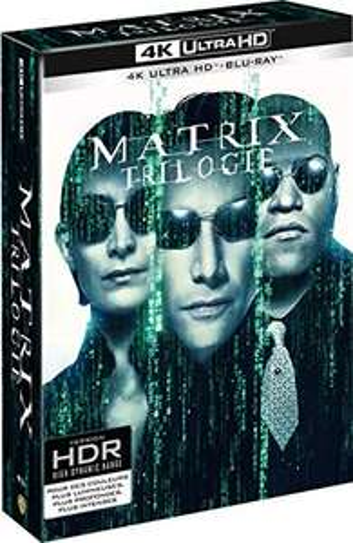 Sélection de Coffrets Blu-ray en promotion - Ex : Coffret Blu-ray 4K UHD + Blu-ray Matrix - La Trilogie
