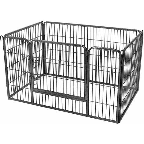 Enclos pour chiens Feandrea - 122 x 80 x 70 cm