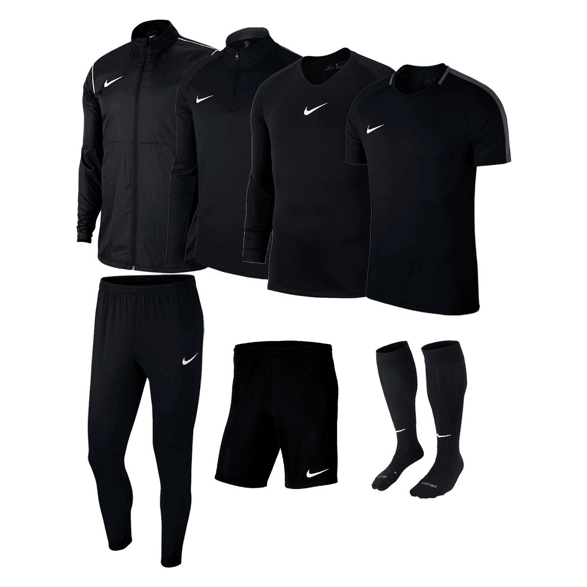 Ensemble d'entraînement Nike Academy 18 - 7 pièces, différents coloris et tailles