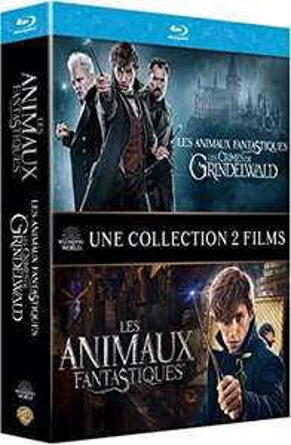 Sélection de coffrets Blu-ray en promotion - Ex : Coffret Les Animaux Fantastiques 1 & 2