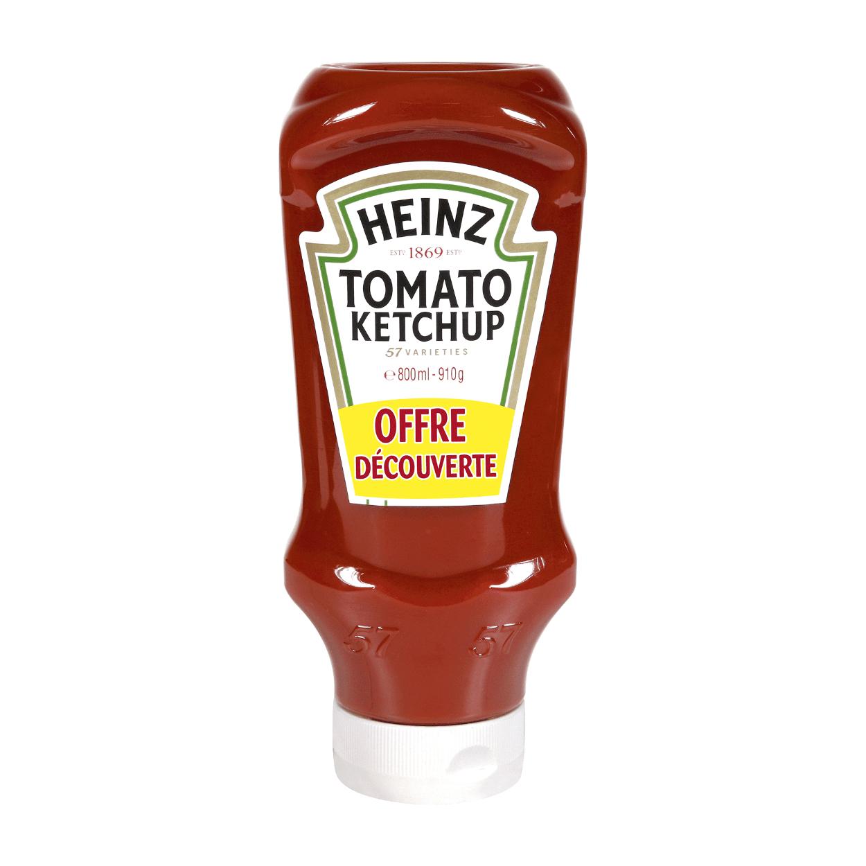 Bouteille de Ketchup Heinz (910g)