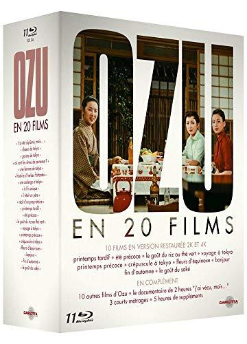 Coffret 11 blu-ray (20 films) Yasujiro Ozu