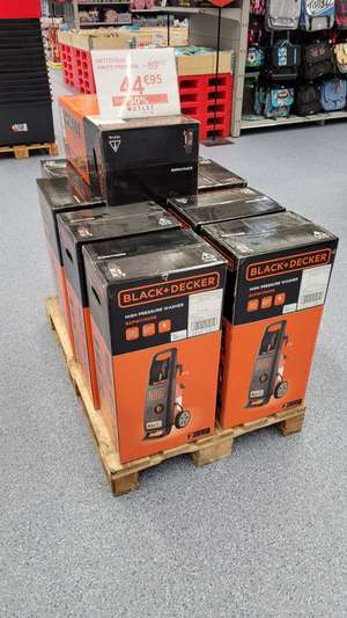 Nettoyeur haute-pression Black & Decker BXPW1700PE (130 bars, 1700 W) - Angers St Serge (49)