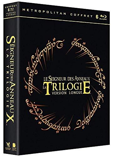 Coffret Blu-ray Le Seigneur des Anneaux - La Trilogie (versions longues)