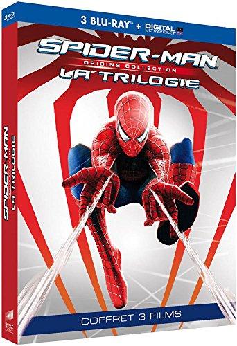 Coffret Blu-Ray Spider-Man Origins Trilogie - 3 films