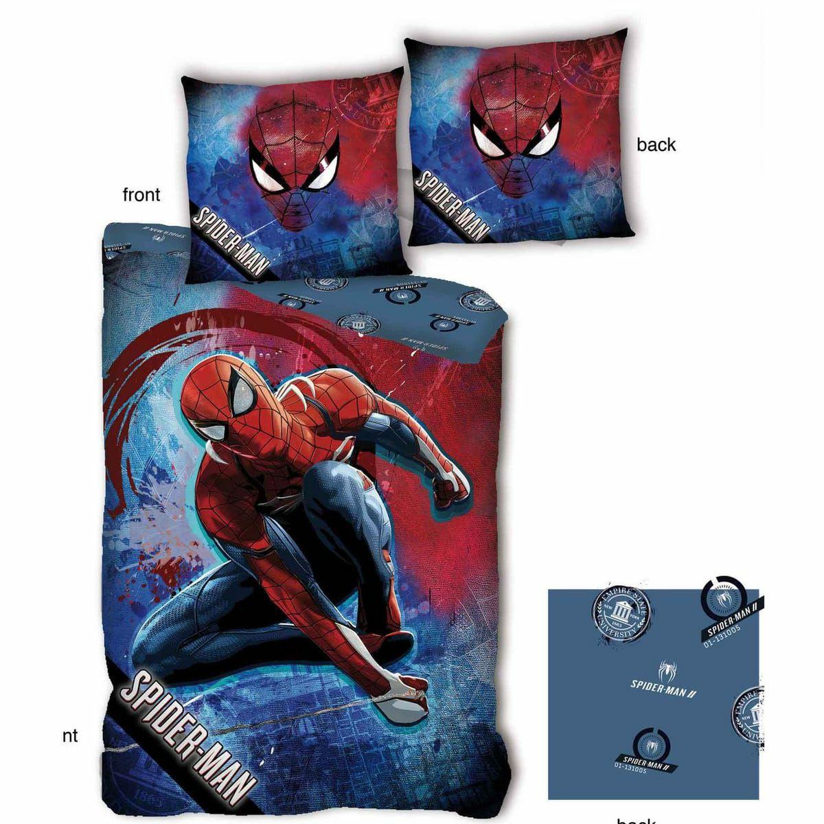 Parure housse de couette enfant Spiderman