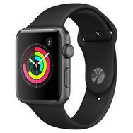 Montre connecté Apple Watch Series 3 - 42mm, GPS, Bracelet Sport Blanc - Reconditionnée Grade A