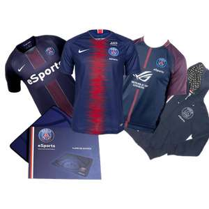 Pack PSG Esports (Taille S M L)