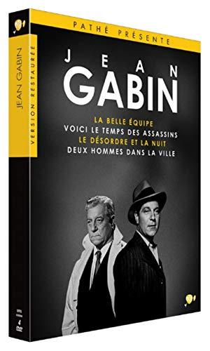 Coffret DVD 4 Films Jean Gabin: La Belle équipe + Voici Le Temps des Assassins + Le Désordre et la Nuit et Deux Hommes dans la Ville
