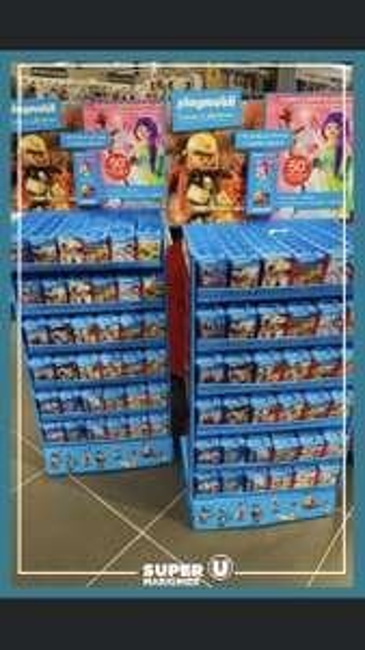 [En collectionnant des vignettes à chaque passage en caisse] Sélection de 18 jouets Playmobil à 1.99€