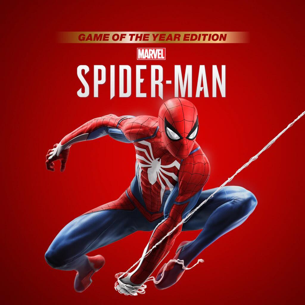 Marvel's Spider-Man: Game of the Year Edition sur PS4 (Dématérialisé, Sans VF - Store JP)