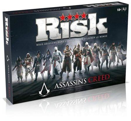 Jeu de société Winning Moves Risk Assassin's Creed