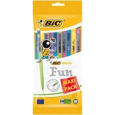 Lot de 10 Porte-mines BicHB Matic Fun 0,7 mm (Caluire-et-Cuire 69)