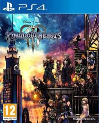 Kingdom Hearts 3 sur PS4 et Xbox One (via retrait en magasin)