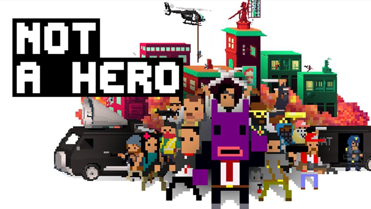 Not a Hero sur PC (dématérialisé)