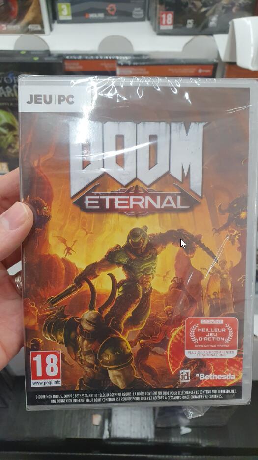 Sélection de jeux vidéo sur PC à 2 € - Ex : Doom Eternal, Resident Evil 2, Star Wars Jedi: Fallen Order... - Roncq (59)