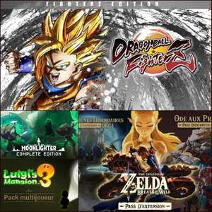 Sélection de Packs/Bundles Nintendo Switch en promo (Dématérialisé) - Ex: Dragon Ball FighterZ Edition FighterZ