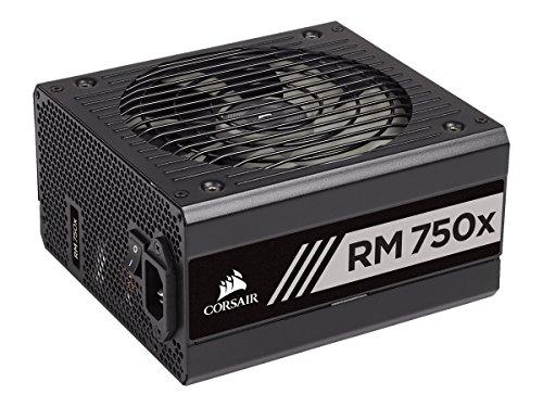 Alimentation PC modulaire Corsair RM750X - 750W, 80+ Gold, Noir