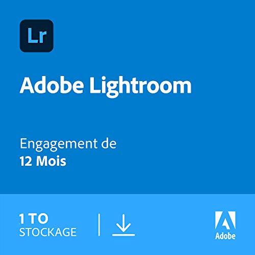 Abonnement 12 mois Adobe Lightroom - 1 To (Dématérialisé)