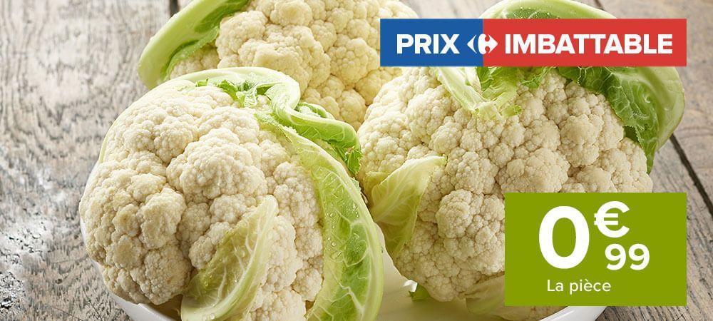 Chou-fleur - Origine France, Catégorie 1
