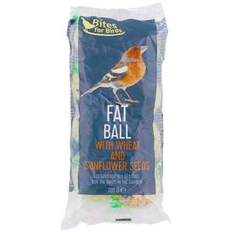 Paquet de 8 Boules de graisse pour oiseau Bites for Birds - 8x90g