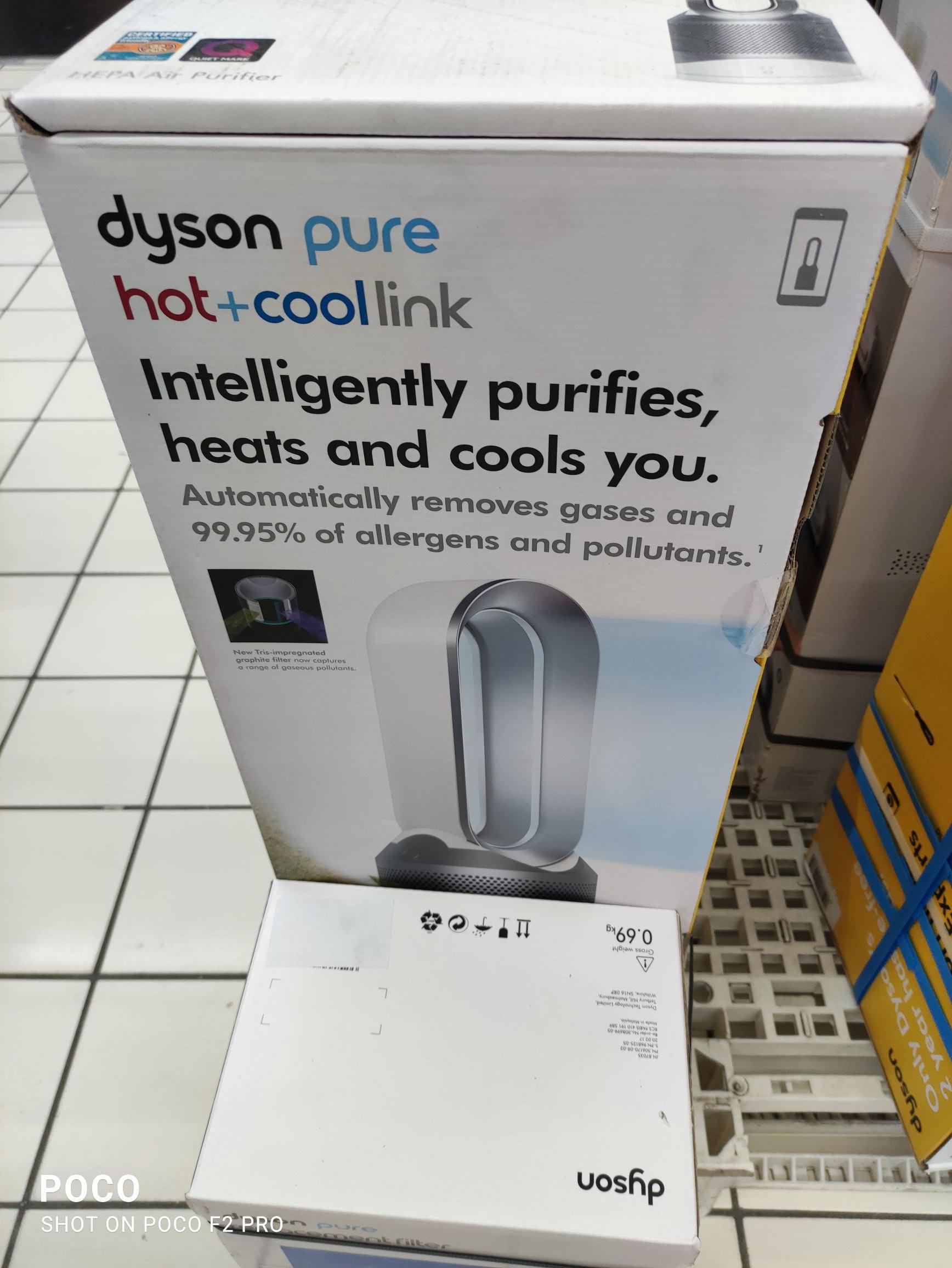 Purificateur d'air Dyson pure hot+cool link (via 199,5€ fdélité) - Carrefour Vénissieux (69)