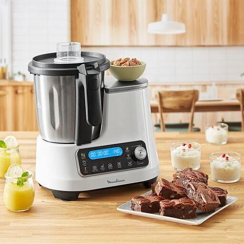Robot cuiseur multifonction Moulinex ClickChef HF452110 - 3.6 L, 1400 W (via 124,50€ sur la carte de fidélité) - Thionville (57)