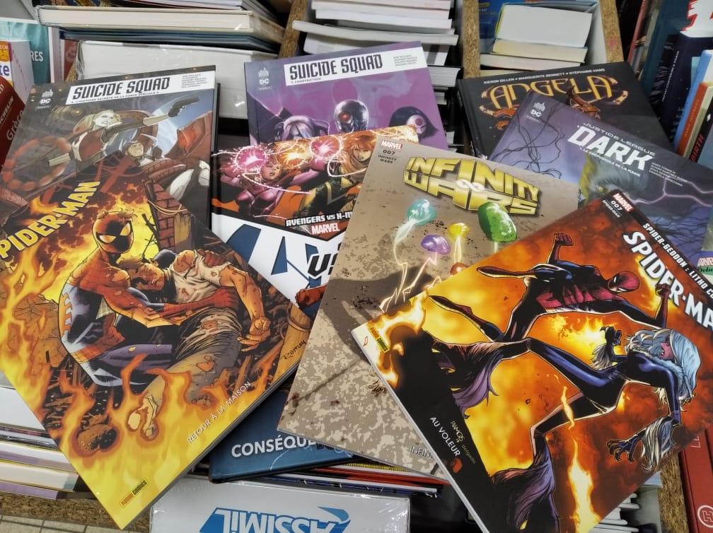 Sélection de comics en promotion - NOZ Comines (59)