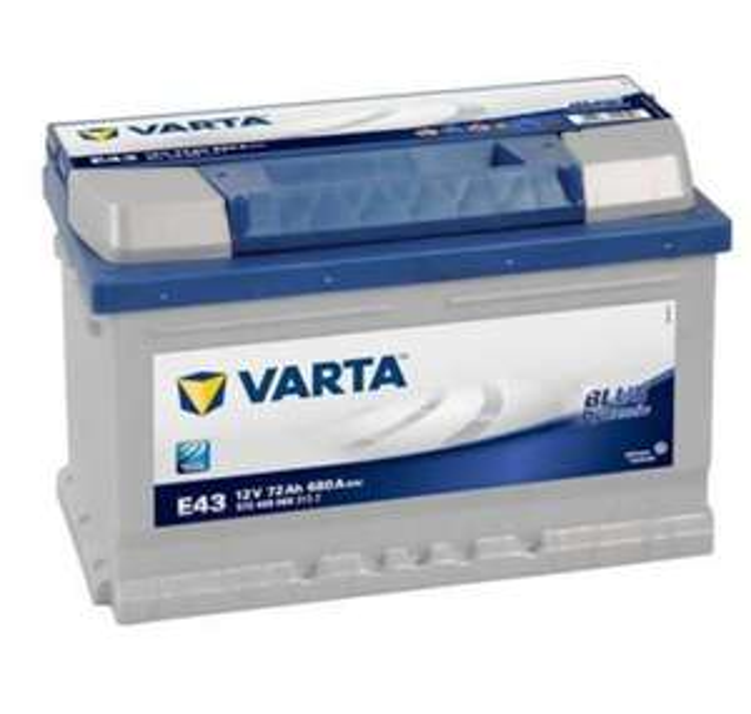 Batterie Varta Blue Dynamic E43 12V 72AH 680A