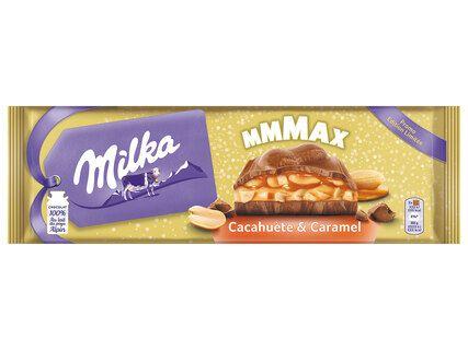 Tablette de chocolat Milka Mmmax - 300g (Différents parfums)