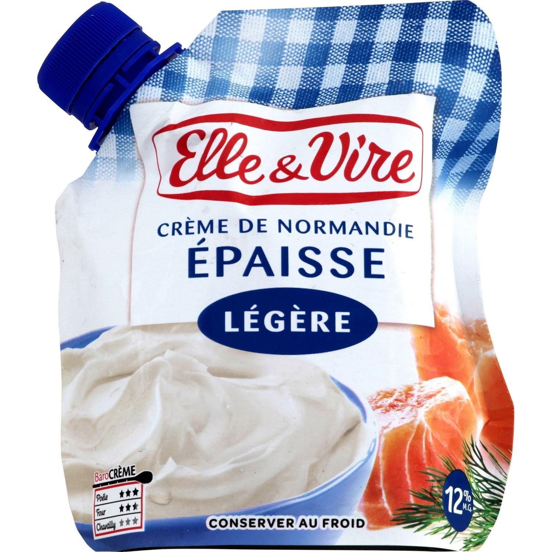 Crème fraîche Elle & Vire légère ou entière 33cl gratuite (via Shopmium + BDR)