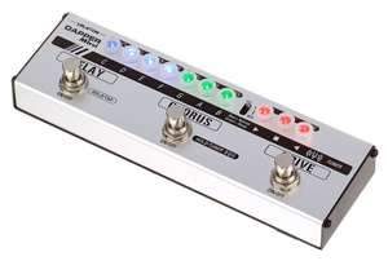 Pédale drive/chorus/delay guitare Valeton Dapper Mini 4 Effect Strip