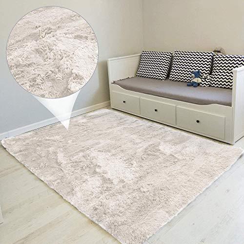 Tapis Salon Shaggy - Blanc, 160 x 230 cm (vendeur tiers)