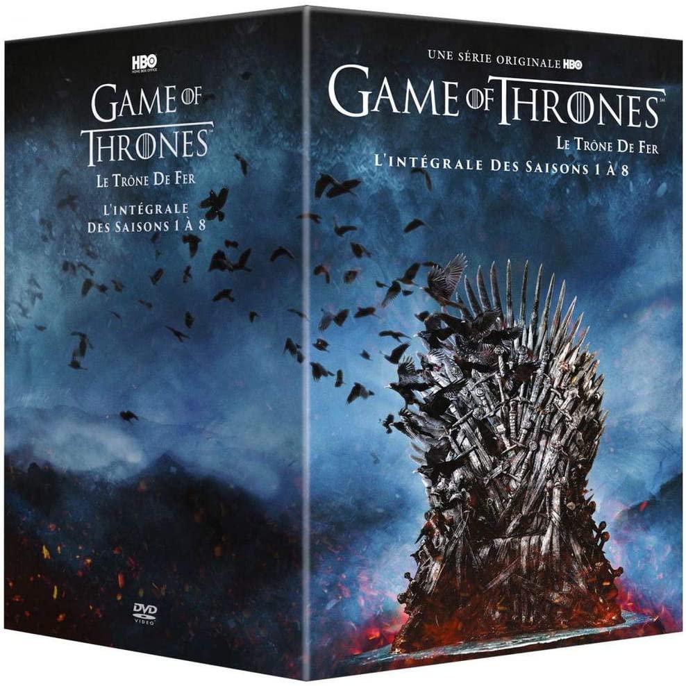 Coffret DVD Game of Thrones - L'Intégrale des saisons 1 à 8